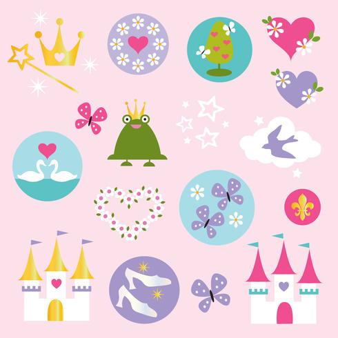 prinses clipart vector