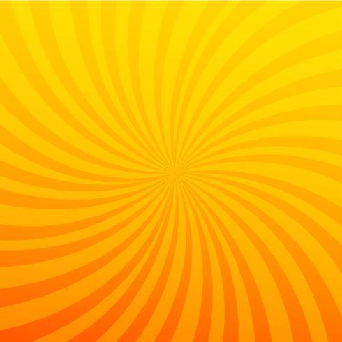 Fel oranje achtergrond. Twister-effect. vector