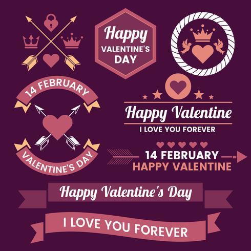 Valentine-sjabloonbanner Vectorachtergrond voor banner vector