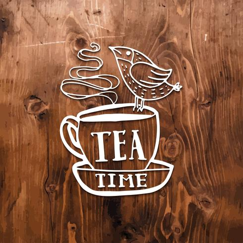 Maar eerste koffie letters. vector