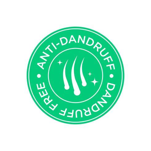 Anti roos pictogram vector