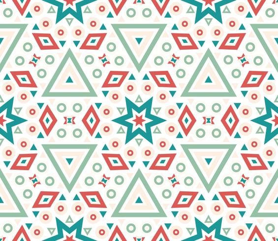 Naadloze patroon geometrische textuur. vector