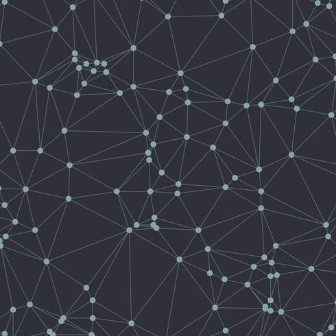 Communicatie atomen vector