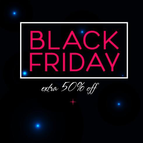 Black Friday-verkoopafficheontwerp vector
