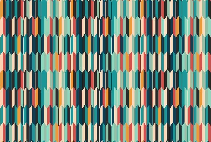Oosters seigaiha naadloos patroon. Vintage achtergrond vector