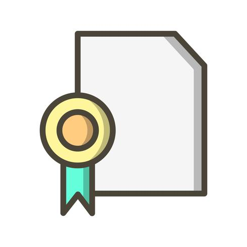 Vector Diploma pictogram