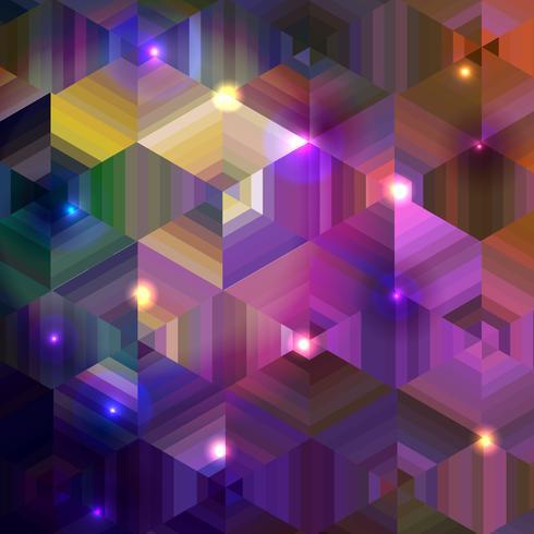 Abstracte geometrische achtergrond vector