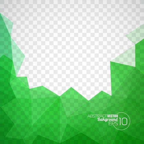 Vector geometrische driehoekenachtergrond. Abstract veelhoekig ontwerp.