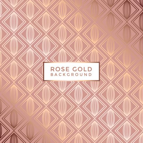 Rose Gold achtergrond Vector