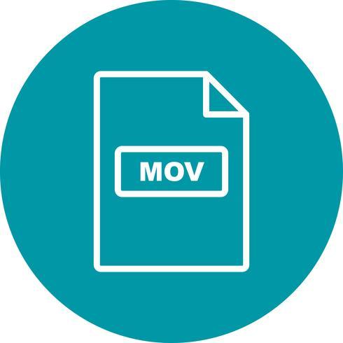 mov vector pictogram