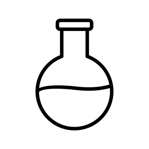 Lijn zwart pictogram vector