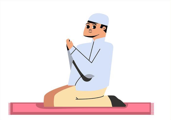 Moslim kinderen vector