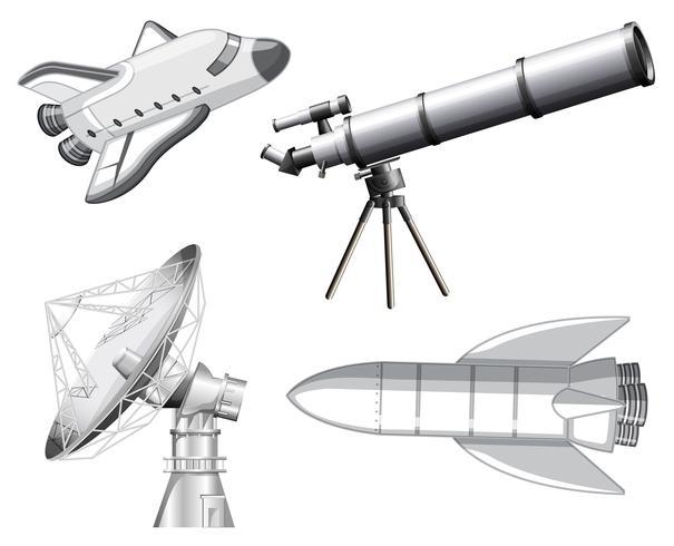 Set van ruimte-element vector