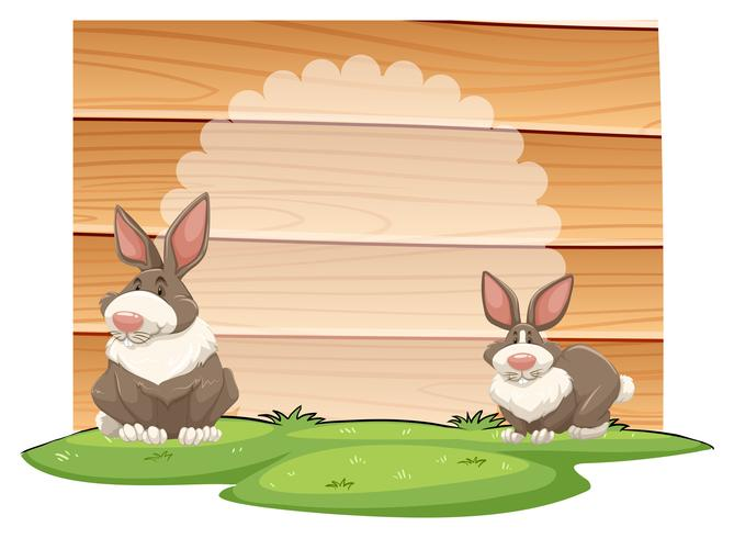 konijnen vector