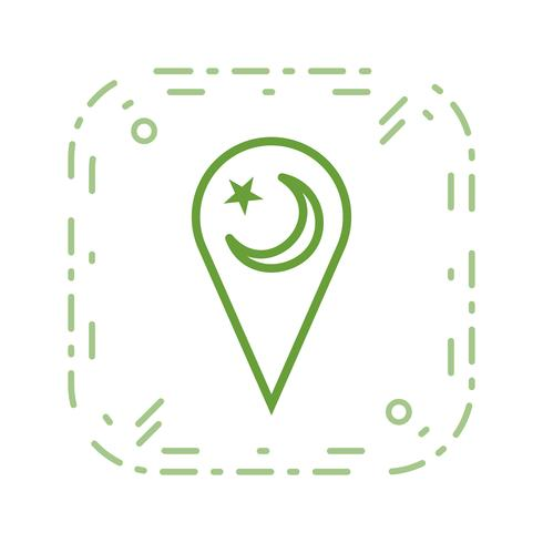 minarat vector pictogram