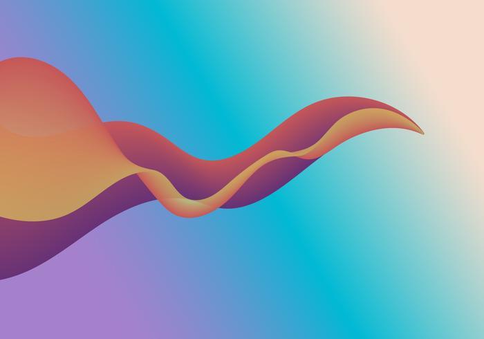 Abstracte gradiënt kleurrijke achtergrond vector