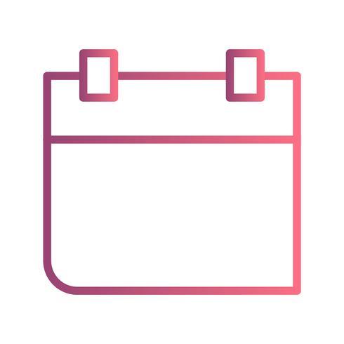 Kalender Vector Icon Vector Icon