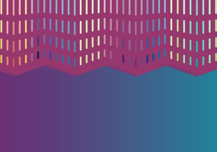 Kleurrijke gordijn achtergrond vector