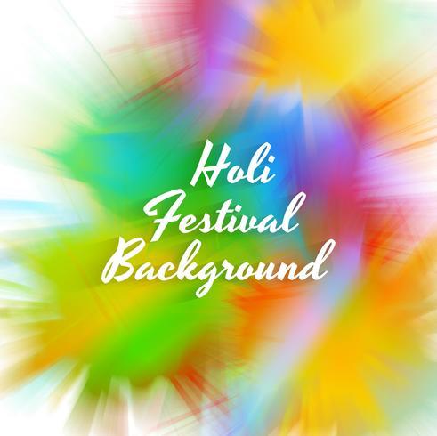 Gelukkige Holi-festivalvierings kleurrijke achtergrond vector