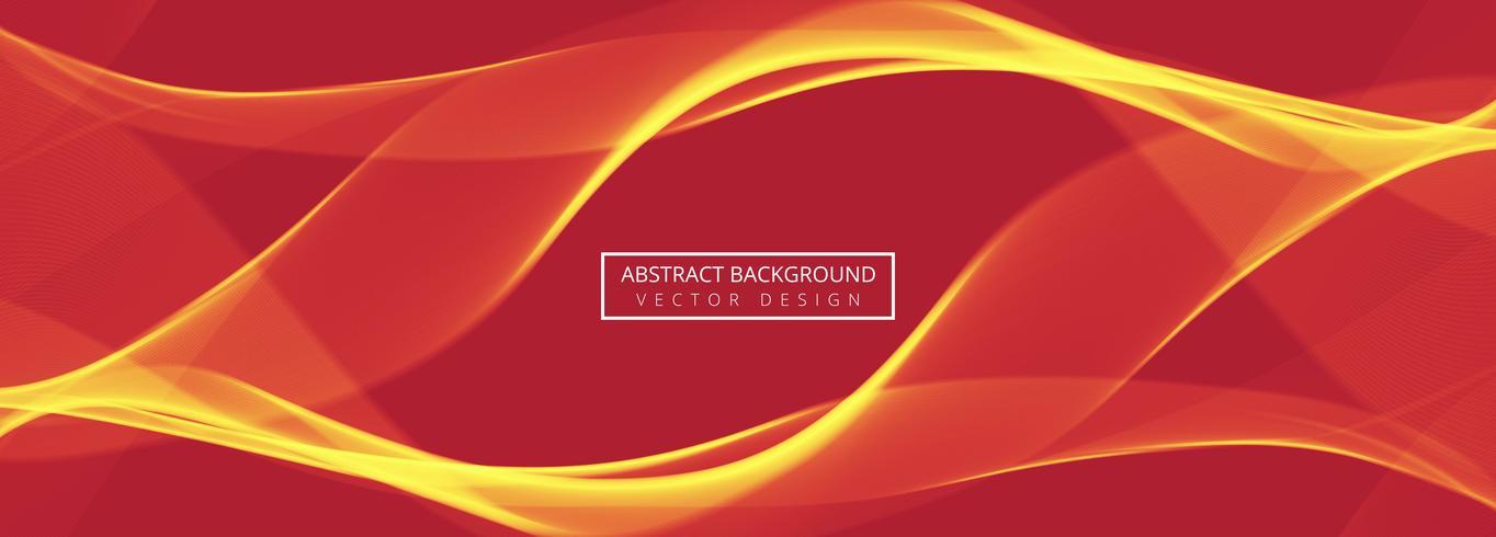 Abstracte wave koptekst instellen ontwerpsjabloon vector