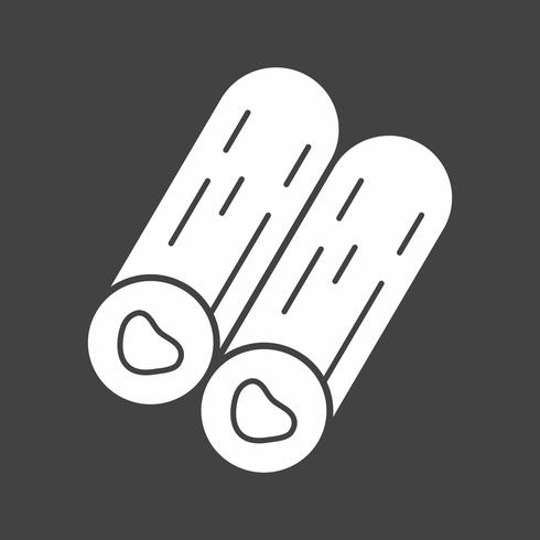 vector hout pictogram