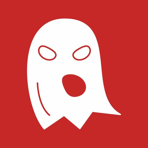 vector ghost pictogram