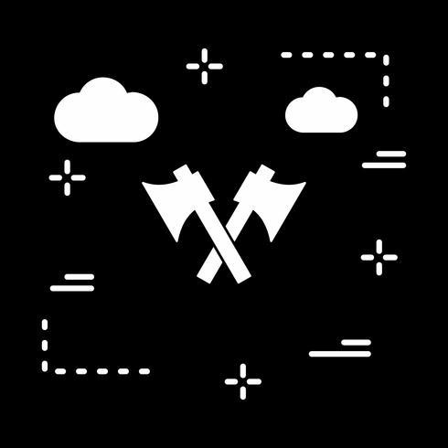 vector bijl pictogram