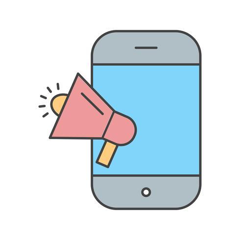 vector marketing pictogram