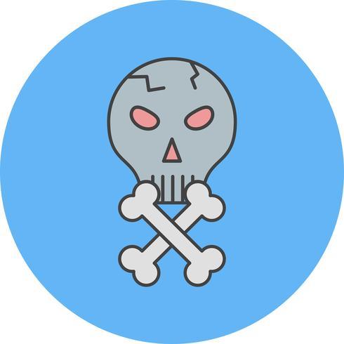 vector schedel pictogram