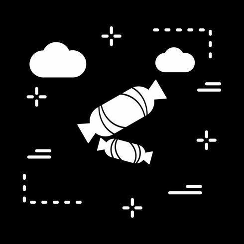 vector toffee pictogram
