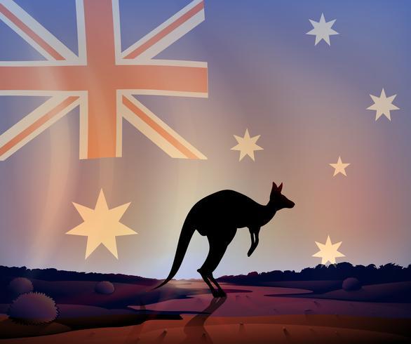 Australië vector