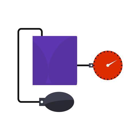 Vector BP-apparatenpictogram