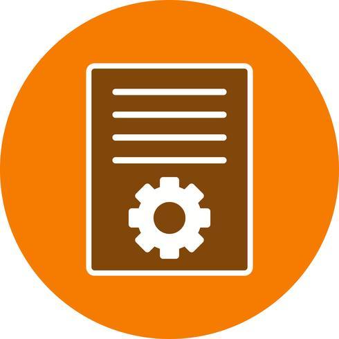 Vector artikel marketing pictogram
