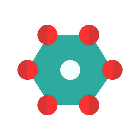 Vector structuur pictogram