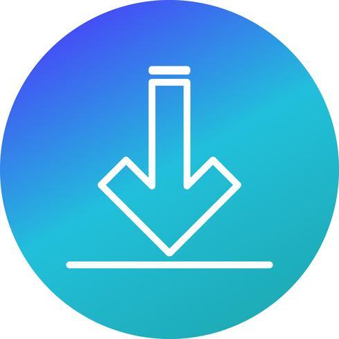Vector downloadpictogram
