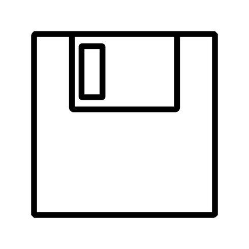 Vector pictogram Opslaan