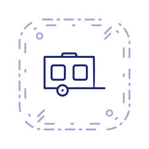 Vector wagen pictogram