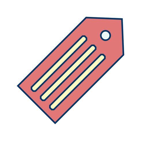 Vector labelpictogram