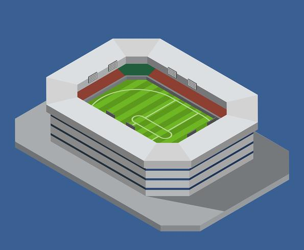 cricket stadion vector