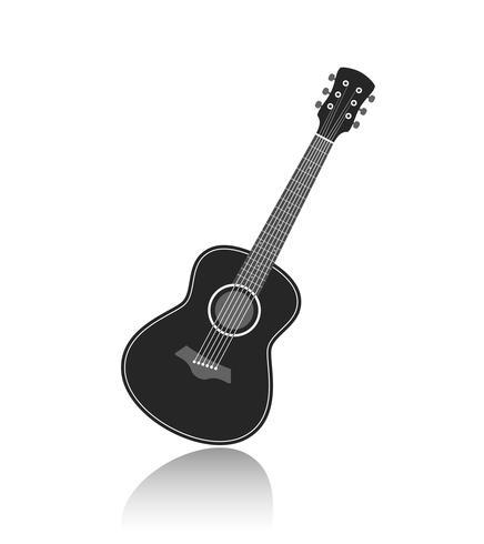 vector gitaar