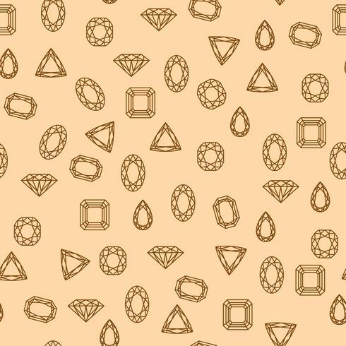 Diamanten patroon vector