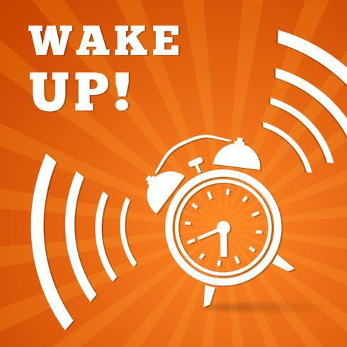 Alarm activeren vector