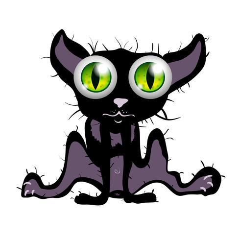 Verrast Pussy kat vector