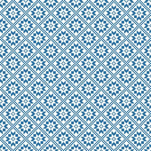 Traditioneel Skandinavisch patroon. Noordse etnische naadloze achtergrond vector
