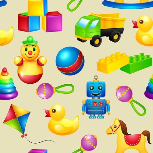 Speelgoed naadloze patroon vector