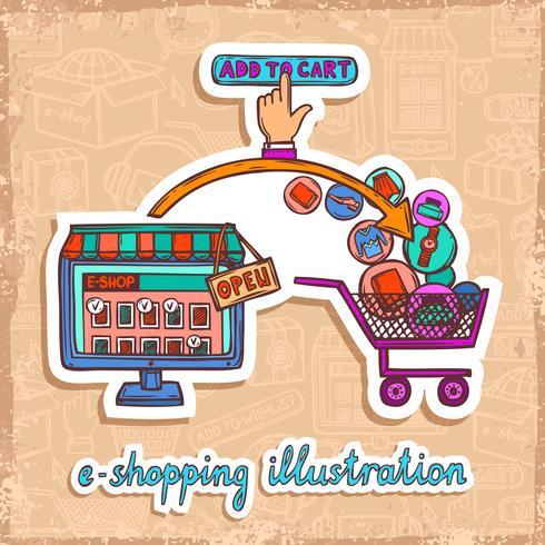 E-commerce ontwerpconcept vector