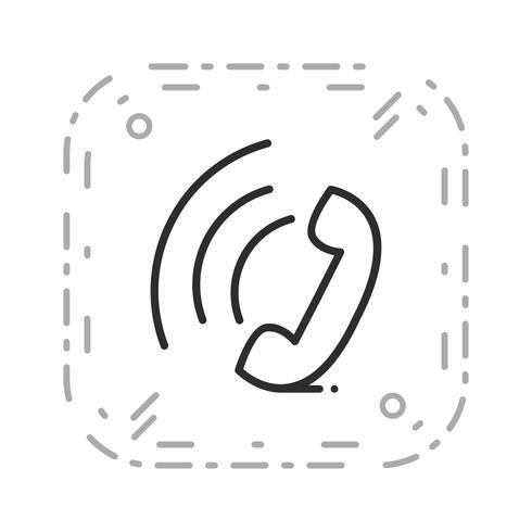 Vector actief oproeppictogram