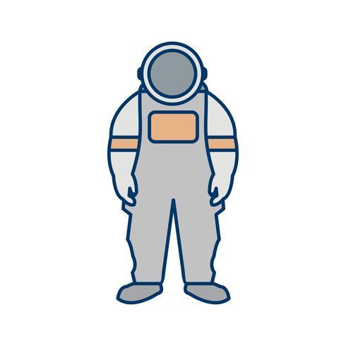 astronout vector pictogram