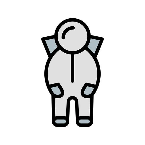 Ruimtepak Vector Icon