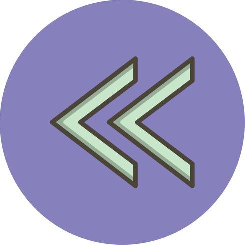 Vorige Vector Icon